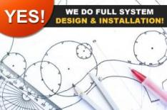 Yes! we do full lawn sprinkler system design & installation